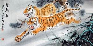 Chinese Tiger Painting | Chinese Painting Blog