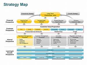 editable powerpoint strategy map template yoqwqrap ppt With technology strategy document template