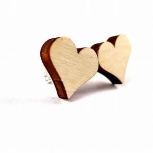 Schuppen Aus Holz : herz ohrstecker aus holz herzform geschenke ~ Michelbontemps.com Haus und Dekorationen