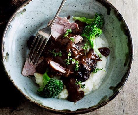 cuisine prune cooker pork with prunes recipe food to