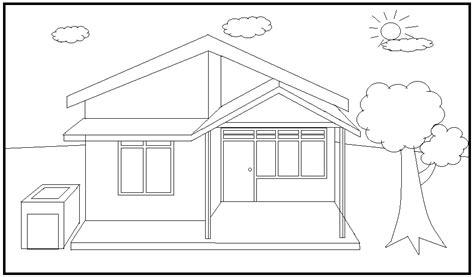 alusius kristomo coloring gambar lingkungan rumah yang sehat