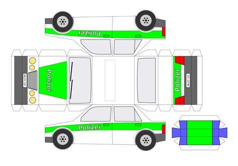 filebastelbogen polizeiauto einfachsvg wikimedia commons