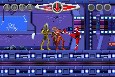 power rangers time u mode7 rom