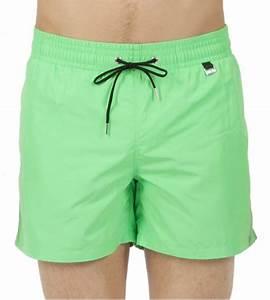 Short De Plage Homme : short de plage pour homme splash vert hom lingerie sipp ~ Nature-et-papiers.com Idées de Décoration