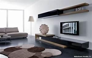 Meuble Moderne Salon : meuble tv moderne choix d 39 lectrom nager ~ Teatrodelosmanantiales.com Idées de Décoration