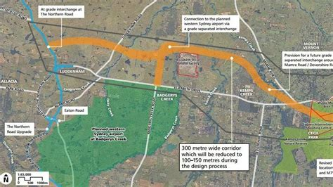 new m12 motorway to link m7 and western sydney airport