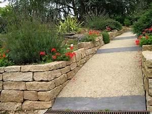 jardin en pente que faire faire un bassin de jardin ides With jardin en pente que faire