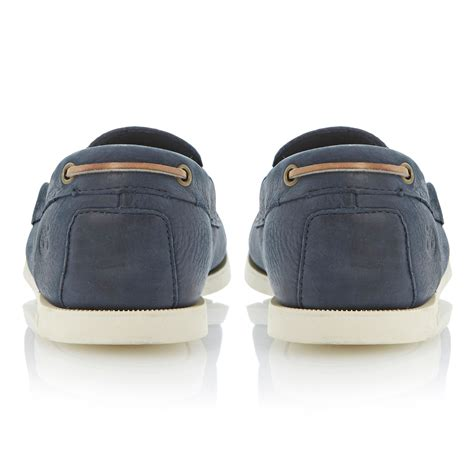 Timberland Blue Boat Shoes Mens by Timberland Mens Brig Boat Shoes Navy Aranjackson Co Uk