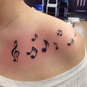 51 Creative Music Tattoos for The 'Music-Lover' in You