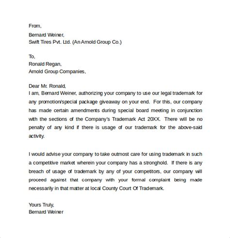 legal letter templates samples examples formats