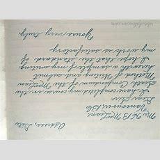 Vintage Handwriting 101  Rite While U Can