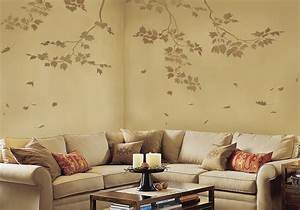 wall art reusable wall stencils sycamore branches and With paint templates for walls
