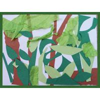 the rainforest preschool activities and crafts kidssoup 988 | c jungle art large
