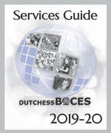 dutchess boces services guide dutchess boces