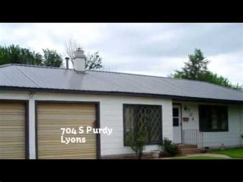 Homes For Sale 50000 - lyons ks homes for sale 50 000 to 100 000 704 s purdy