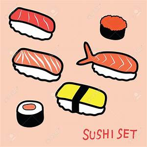 Sushi clipart drawn - Pencil and in color sushi clipart drawn