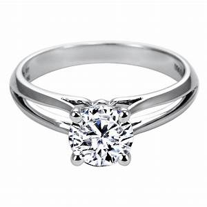 unity engagement ring split shank engagement ring With unity wedding rings