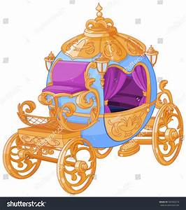 Cinderella Fairy Tale Carriage Stock Vector 560960374 ...