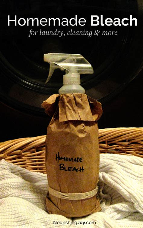 Homemade Bleach