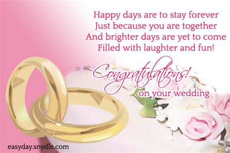 Best Wedding Wishes Messages Top Wedding Wishes And Messages Easyday