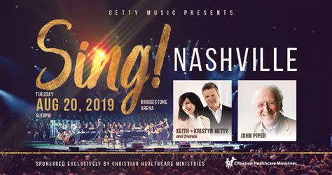 getty  presents sing nashville bridgestone arena