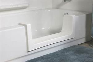 Cleancut safety step fresh finishes for Bathroom conversions for elderly