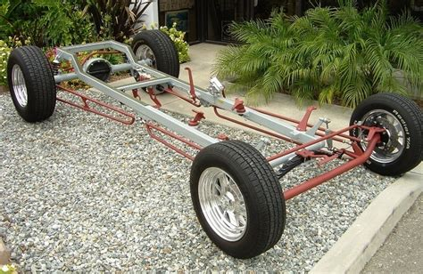 California Custom Roadsters T-bucket Chassis Plans, Ccr T