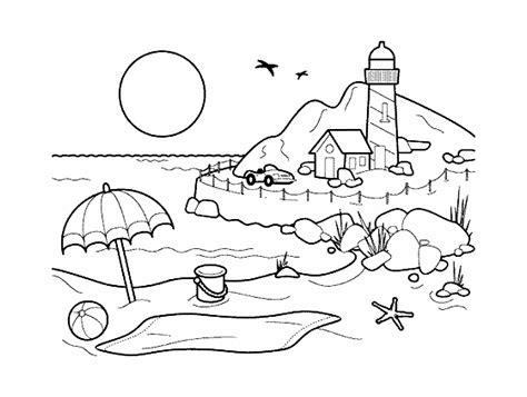 landscapes  color  lscapes adult coloring pages