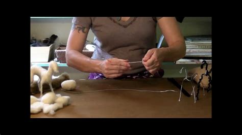 needle felting tutorial sarafina fiber art goat series