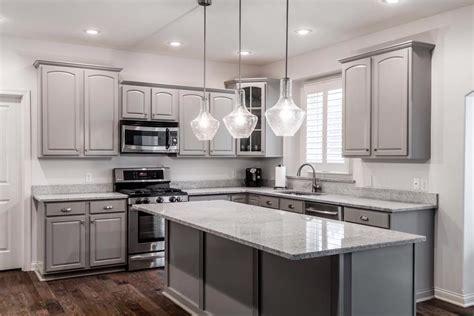 Kitchen Cabinet Makeover Ideas ? Gray Kitchen Cabinets