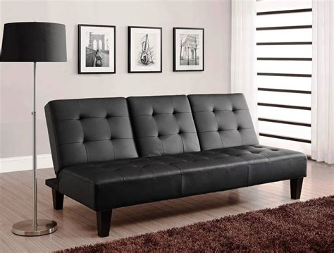 leather futon sofa bed leather futon sofa bed black upholstery convertible