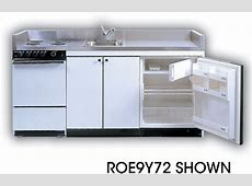 Acme ROG10Y72 Compact Kitchen with Stainless Steel