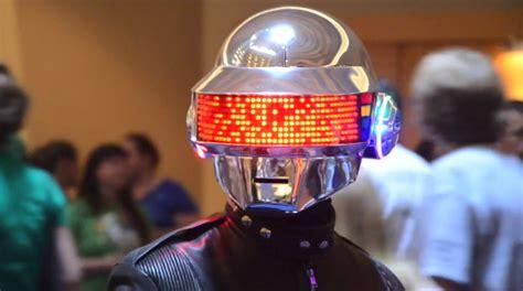 Daft Punk Helmet (Thomas Bangalter Version) by Volpin Props