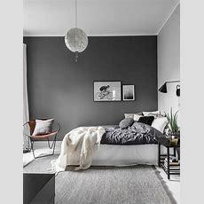 Tolle Schlafzimmer Dunkel Graue Wandfarbe In 100
