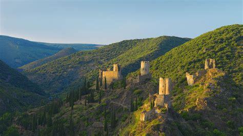 Lastours Castles Bing Wallpaper Download