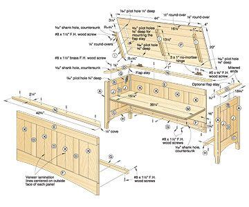 woodworking plans plans  building  hope chest