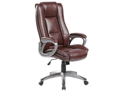 bureau noir conforama fauteuil de bureau coach coloris marron vente de