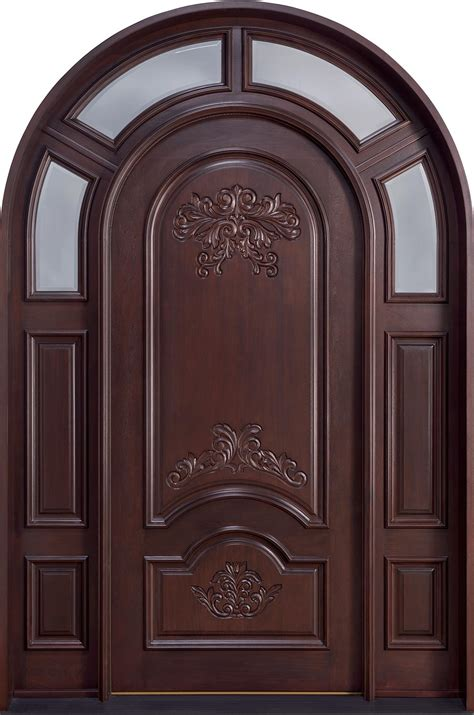 entry doors for front door custom single with 2 sidelites solid wood