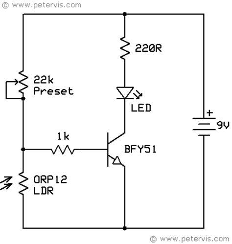 Light Dependent Resistor Ldr