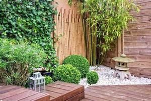 jardin contemporain 105 idees de jardin contemporain With idees amenagement jardin exterieur 1 creer un jardin avec des cactus et des palmiers