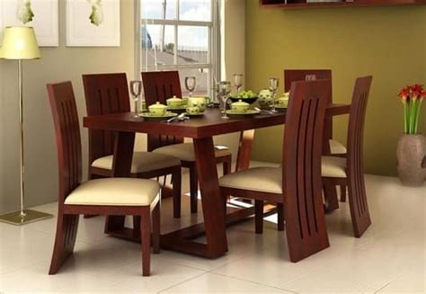 dining table set 6 seater 6 seater dining table online six seater dining table set
