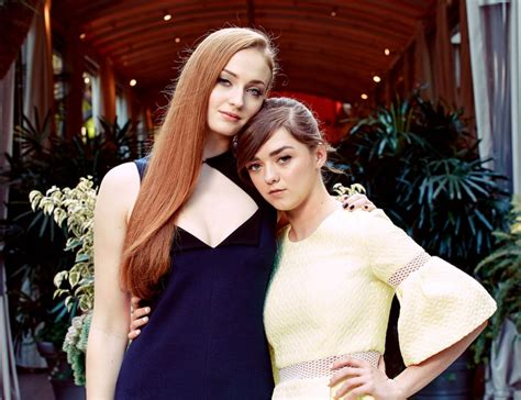 Sophie Turner & Maisie Williams At The New York Times ...