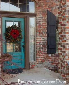 32 Bold and Beautiful Colored Front Doors - Amazing DIY