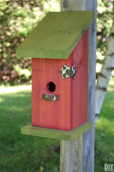 cute yard crafts birdhouse plans  adorable designs