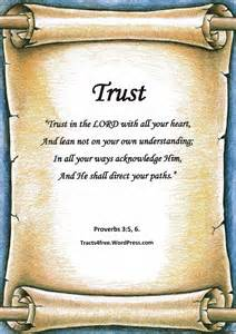 Bible Verse About Trust in the Lord