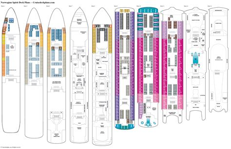 ncl deck plan pdf spirit deck plans cabin diagrams pictures