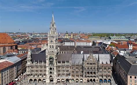 München by Neues Rathaus M 252 Nchen