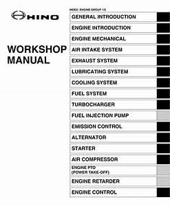 Hino Engine J08e