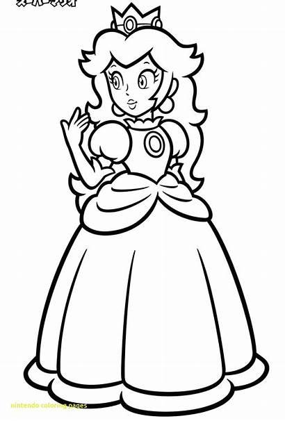 Nintendo Coloring Pages Characters Getcolorings Printable Getdrawings