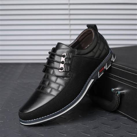 Shoes New Large Size Men Business Leather Oxfords